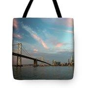 Pastel San Francisco Sunrise Tote Bag