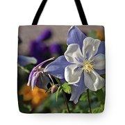 Pastel Spring Flowers Tote Bag