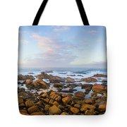 Pastel Tone Seaside Sunrise Tote Bag
