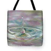 Pastel Water Sculpture 2 Tote Bag