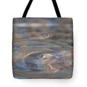 Pastel Water Sculpture 5 Tote Bag