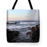 Pastel Water Sidewalk Tote Bag
