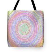 Pastel Whirlpool Tote Bag