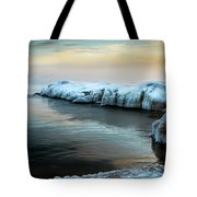 Pastels And Ice Tote Bag