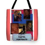 Pastels,oil,portraits Tote Bag