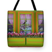 Pastle Windows Tote Bag