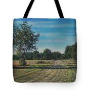 Pastoral Off Poplar Hill Road Tote Bag