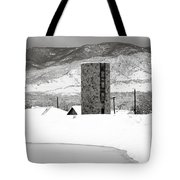 Pastoral Winter Tote Bag