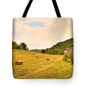 Pastorial Framland In Kentucky Tote Bag