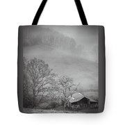 Pasture Field And Barn Tote Bag