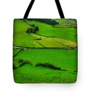 Pastures In The Azores Tote Bag