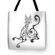 Pat Cat Tote Bag