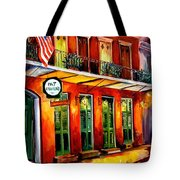 Pat O Briens Bar Tote Bag
