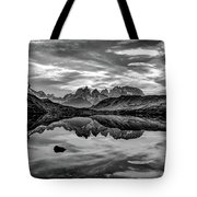 Patagonia Lake Reflection #2 - Chile Tote Bag