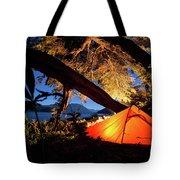 Patagonia Landscape Camping Tote Bag