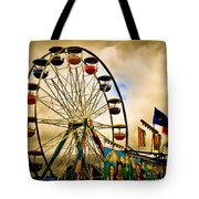 Patch Of Blue Tote Bag by Bob Orsillo