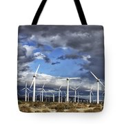 Patch Of Blue Palm Springs Tote Bag