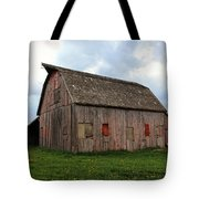 Patched And Still Standing Tote Bag
