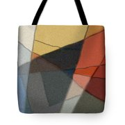 Patches In Harmony Abstract Tote Bag