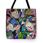 Patchwork Bouquet Tote Bag