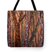 Patchwork Forest Tote Bag