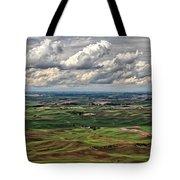 Patchwork Palouse Tote Bag