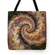 Patchwork Spiral Tote Bag