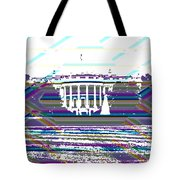 Patchwork White House Tote Bag
