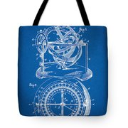 Patent 1902 Stellar Compass - Blueprint Tote Bag