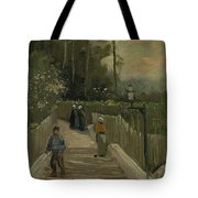 Path In Montmartre Paris  April - May 1886 Vincent Van Gogh 1853  1890 Tote Bag