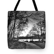 Path In The Park Tote Bag