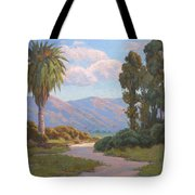Path Into The Valley Tote Bag