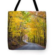 Path Of Many Colors Tote Bag by Parker Cunningham