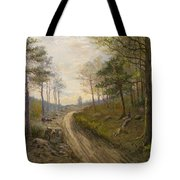 Path Through The Forest Tote Bag