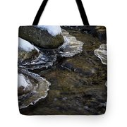 Path Through The Ice Tote Bag