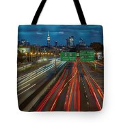Path To And From Nyc Tote Bag
