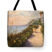 Path To Bacara , With Golden  Tote Bag