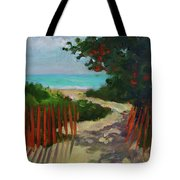 Path To Delray Beach 1 Tote Bag