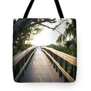 Path To Marco Island Beach Tote Bag