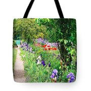 Path To Monet's House Tote Bag
