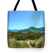 Footpath To Nestucca River Tote Bag