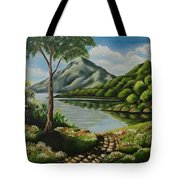 Path To Serenity  Tote Bag