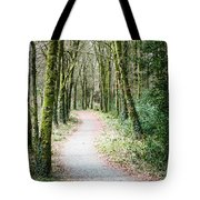 Path To The Forest Tote Bag