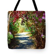 Path To The Gardens Tote Bag