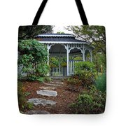 Path To The Gazebo Tote Bag