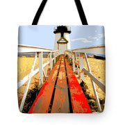 Path To The Lighthouse Tote Bag