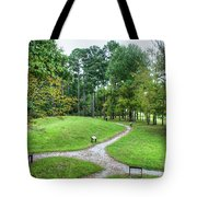 Path To The Mound Tote Bag