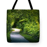 Path To The Secret Garden Tote Bag