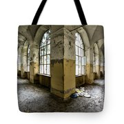 Pathway Around Insanity - Urban Exploration Tote Bag