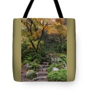 Pathway Into Fall Tote Bag